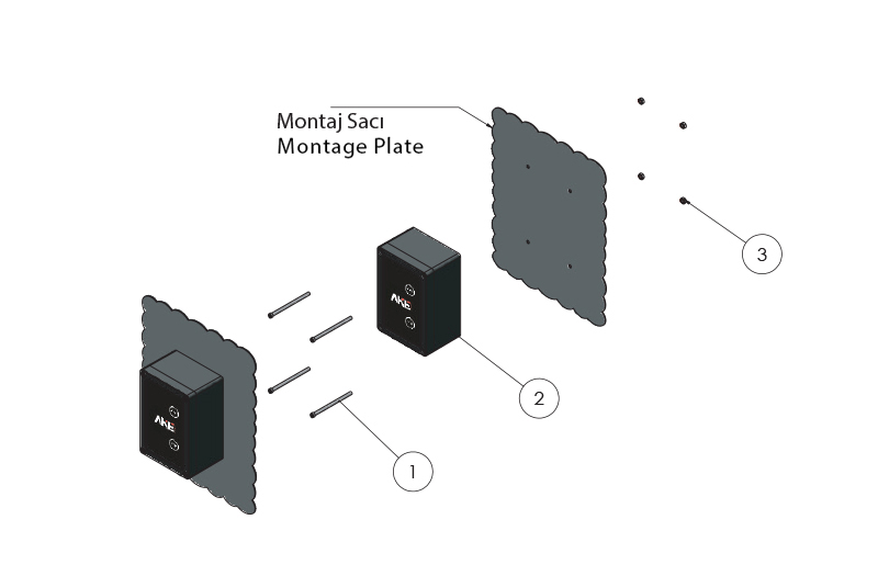 Monofaze start-stop kontrol ünitesi 1