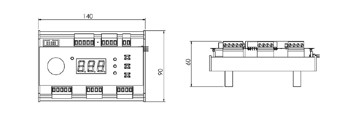 Thyrıstor module driver card 1