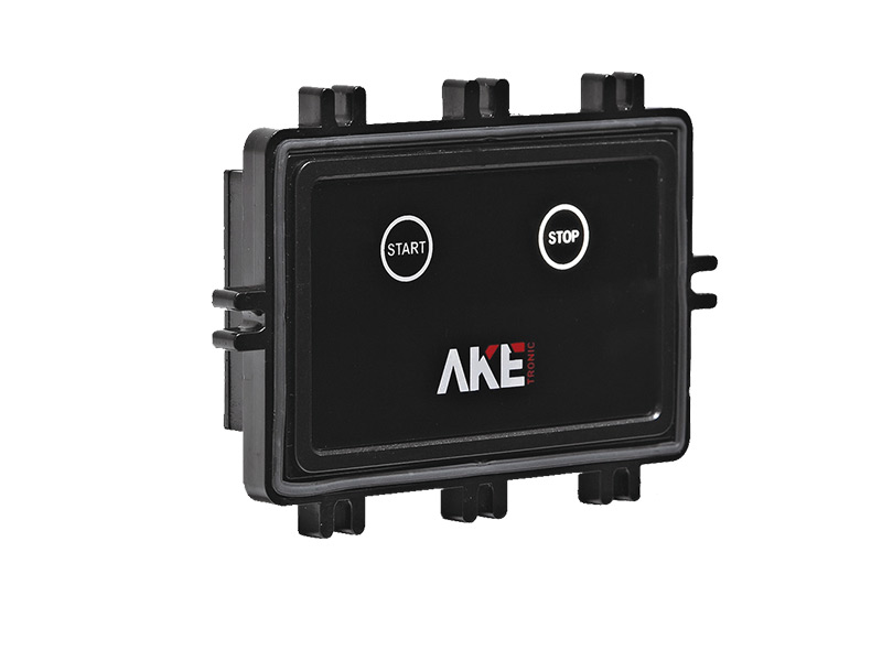Single-phase start-stop controller